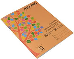 Pink <b>AISLING</b> TB/F15 229x178mm 32 Page Project Book Graph ...
