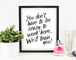 home office wall art. cubicle decor printable office wall art funny signs work home