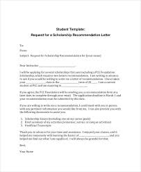 Write A Recommendation Letter For A Student 12 Letter Of Recommendation For Student Templates Pdf Doc Free