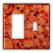 1 toggle rockergfi copper switch plate copper light switch plates w70