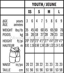 Youth Pants Size Chart Height Weight Pants Size Chart 2019