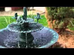 alpine all metal decorative bird bath