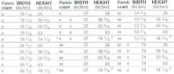 Egress Window Sizes Chart Netairoy Com