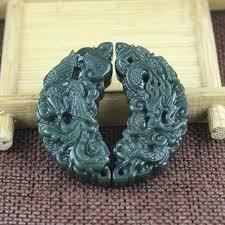 <b>Yu Xin Yuan Fine</b> Jewelry Hetian Qing Jade Carved Chinese ...