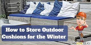 how to patio furniture cushions