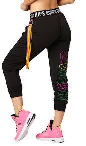 Zumba Party Tassel Harem Dance Pants Size Large Xl Xxl Bold Black