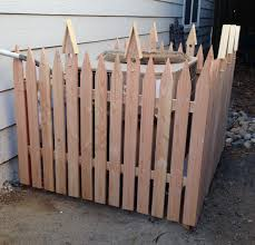 Lattice Air Conditioner Screen Picket Fence To Hide Ugly Air Conditioner Backyard Shenanigans