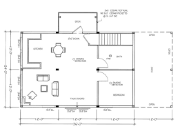Small Picture How To Draw Building Plans Floor Plan For A Small House Sf With