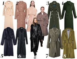 8 of the best trench coats
