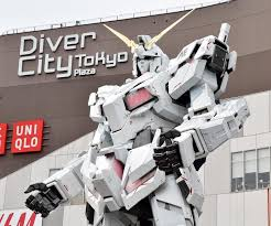life size unicorns the life size unicorn gundam in tokyo is finally open to the public