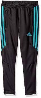 Adidas Soccer Tiro 17 Training Pant Black Hi Res Aqua X