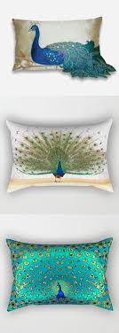 Accessories: Range Of Rectangular Cushions Peacock Themed Bedroom - Peacock  Themed Bedroom
