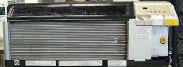ge recalls air conditioning and heating units due to risk of fire ge zoneline front panel removed