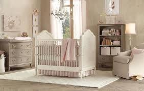 nursery with white furniture. Amazing Beige Nursery For Girl With White Furniture