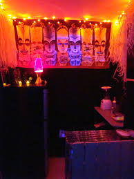 Haunted Tiki Hut Low Light Tested Out The Led String Lig