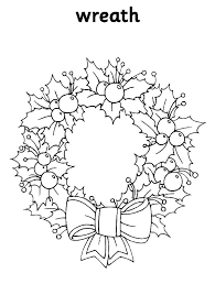 Coloring Sheet Wreath Wreath Of Teddy Bears Coloring Sheet Advent