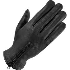 wilsons leather black lined leather driving glove w zipper for men lyst