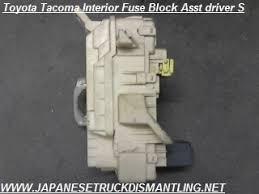 2001 2002 2003 2004 toyota tacoma fuse block 82730 04011 , 2004 toyota tacoma fuse box at 2003 Tacoma Fuse Box