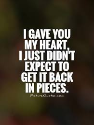 Heart Broken Love Quotes Gorgeous Broken Heart Quotes Heartbreak Sayings About Relationship And Love