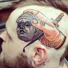 на голове тату фото галлерея идей для татуировок татуировки и