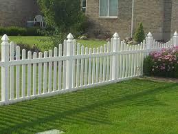 brown vinyl picket fence. Brown Vinyl Picket Fence