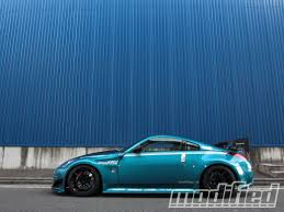 nissan 350z modified blue. Contemporary Blue Modp 1210 05 2004 Nissan 350z Side View And Nissan Modified Blue A