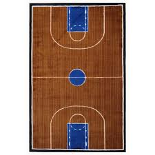 la rug supreme basketball court multi colored 5 ft x 8 ft area rug