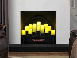 fireplace candle insert inserts holders