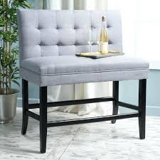kenan 29 inch tufted fabric barstool dining bench by bar stool bench