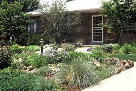 easy front yard landscaping no grass