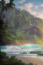 hawaii paintings by roy gonzalez tabora amo images amo images