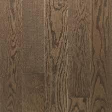mercier hardwood flooring design plus solid red oak stone brown wide x 0 75in thick
