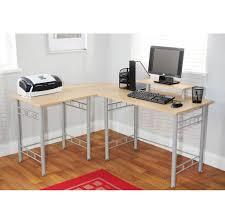 Furniture: Cheap L-shaped Computer Corner Desk For Home Office Furniture  Inspiration - L