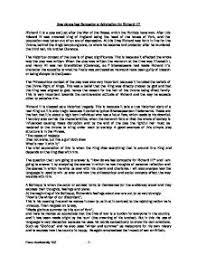 how do we feel sympathy or admiration for richard iii gcse william shakespeare acircmiddot richard iii page 1 zoom in