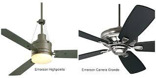 emerson ceiling fan parts fans brushed steel housing