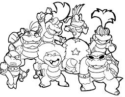 Coloring Pages Super Mario Coloring Bros Pages On Last Updated