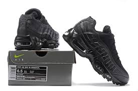 nike running shoes all black. 2017 nike air max 95 essential womens running shoes all black 807443 001 uk t