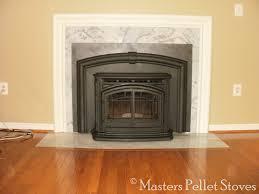 Flush Wood Plus Wood Insert  Dunrite Chimney Centereach New YorkPellet Stove Fireplace Insert