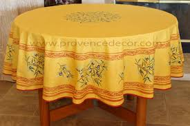petite olive rust acrylic coated french provence tablecloth french oilcloth indoor outdoor round circle rectangle rectangular table cloths french