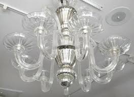 mercury glass chandelier this stylish large scale nine light glass chandelier dates from the mercury glass mercury glass chandelier