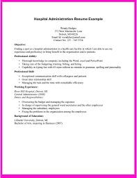 Hospital Resume Examples 76 Images The Most Elegant