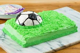 How To Decorate A Soccer Ball Cake Championship Soccer Ball Cake Kraft Recipes 19