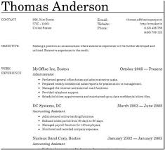 creating an online resumes