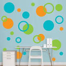 polka dot wall decals polka dot walls