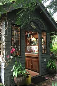 garden shed lighting ideas images 19 whimsical garden shed designs storage shed plans