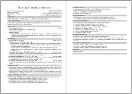 Two Page Resume Sample Format sample 60 page resumes Tierbrianhenryco 2