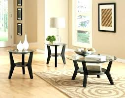 glass coffee table decor round sets ideas decorating rectangle d