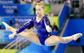 floor gymnastics shawn johnson. Shawn Johnson Is Up First On The Floor Exercise During Individual Competition And Her Score Gymnastics O