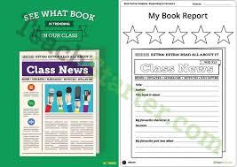 Newspaper Book Report Template Free Newspaper Book Report Template Major Magdalene