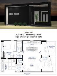 studio900 small courtyard house plan